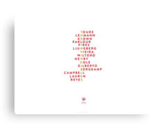 Arsenal Invincibles Canvas Print