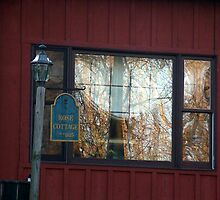 Rose Cottage Window - Part 2 of 6 by Judi Taylor