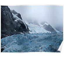 Glacier, Drygalski Fjord Poster