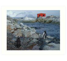 Port Circumcision, Antarctica Art Print