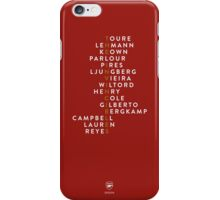 Arsenal Invincibles iPhone Case/Skin