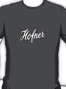 Hofner   White T-Shirt