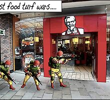 Fast food turf wars.... by TimConstable