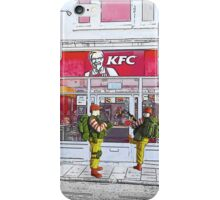 Getting the Colonel off our turf! iPhone Case/Skin