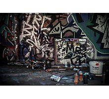 Graffiti # 1 Photographic Print