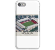 Vintage Football Grounds - Highbury (Arsenal FC) iPhone Case/Skin