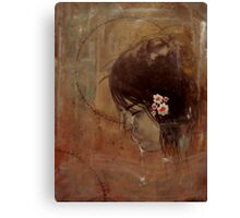 """""""and then she was broken"""" Canvas Print"""