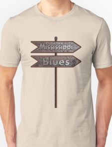 Mississippi Blues rusty T-Shirt