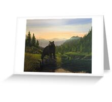 At The Fishing Hole Greeting Card