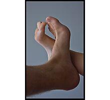 Lovers Feet Photographic Print