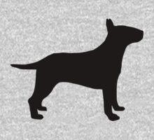 Bull terrier dog One Piece - Short Sleeve