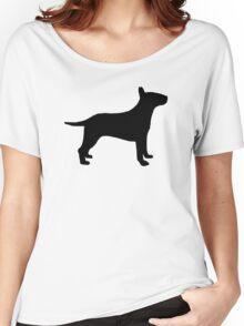Bull terrier dog Women's Relaxed Fit T-Shirt