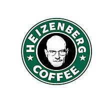 Heizenberg Starbucks coffee Photographic Print