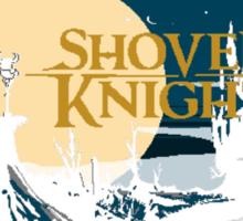 Shovel  Knight moonset Sticker