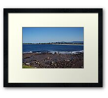 Waterscape: Illawarra, Barrack Point, Shellharbour City, NSW 2528 Framed Print