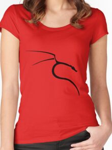 Kali linux ultimate logo [UltraHD] Women's Fitted Scoop T-Shirt