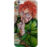 Drop Dead Fred - A tribute to Rik Mayall iPhone Case/Skin