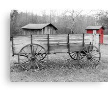 Ohio Country Retro Canvas Print