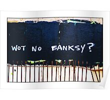 Wot no Banksy? The council have painted over a Banksy piece by mistake! Poster
