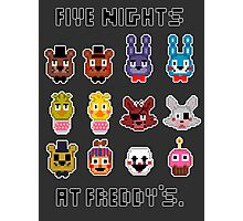 Five Nights at Freddy's. Photographic Print
