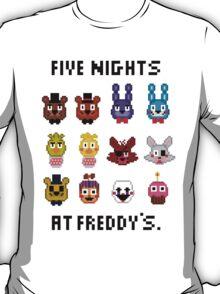 Five Nights at Freddy's. T-Shirt
