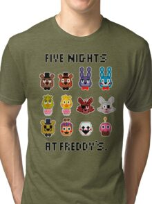 Five Nights at Freddy's. Tri-blend T-Shirt