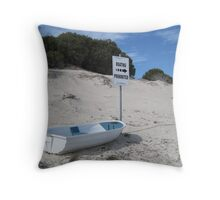 Boating Prohibited! - Rottnest Island 5 Throw Pillow
