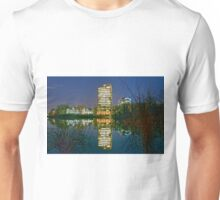 Night Tower in Falls Church Unisex T-Shirt