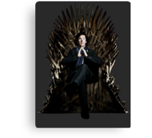 Sherlock Holmes: Game of Thrones Canvas Print