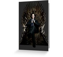 Sherlock Holmes: Game of Thrones Greeting Card