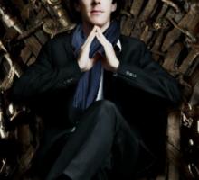 Sherlock Holmes: Game of Thrones Sticker