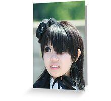 Harajuku Girl Greeting Card