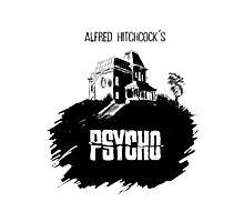 Alfred Hitchcock's Psycho by Burro! Photographic Print