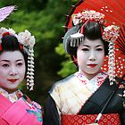 Maiko Friends by gisondan