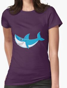Great White Shark 4 Womens Fitted T-Shirt