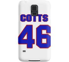 National baseball player Neal Cotts jersey 46 Samsung Galaxy Case/Skin
