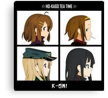 K-on! Gorillaz Canvas Print