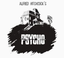 Alfred Hitchcock's Psycho by Burro! by burrotees