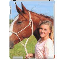 Kasey and Bill iPad Case/Skin