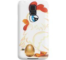 Hen with Golden Egg Samsung Galaxy Case/Skin