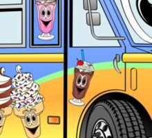 Ice Cream Food Truck Sticker