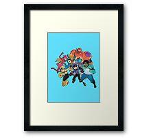 Big Hero 6 Team - Marvel Framed Print