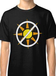 "Say ""NO!"" to Sunlight!!!! (Vampire Activism) Classic T-Shirt"