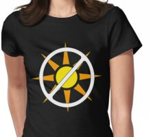"""Say """"NO!"""" to Sunlight!!!! (Vampire Activism) Womens Fitted T-Shirt"""