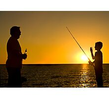Like Father, Like Son Photographic Print