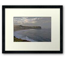 After The Storm - Bungan Beach, Sydney , NSW Australia` Framed Print