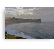 After The Storm - Bungan Beach, Sydney , NSW Australia` Canvas Print