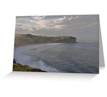 After The Storm - Bungan Beach, Sydney , NSW Australia` Greeting Card