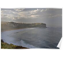 After The Storm - Bungan Beach, Sydney , NSW Australia` Poster