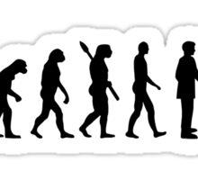 Evolution Cocker Spaniel Sticker